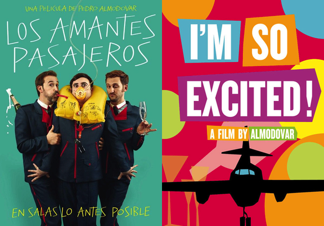 I´m so excited by Pedro Almodovar